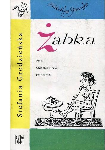 Okładka książki Żabka oraz Kieszonkowe tragedie