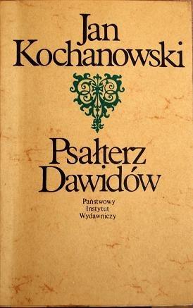 Okładka książki Psałterz Dawidów