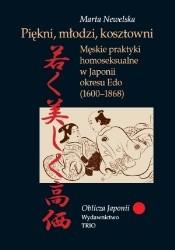 Okładka książki Piękni, młodzi, kosztowni. Męskie praktyki homoseksualne w Japonii okresu Edo (1600-1868)
