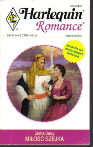 Okładka książki Miłość szejka