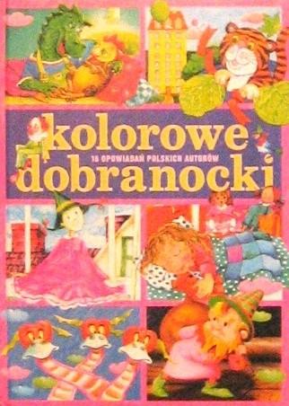 Okładka książki Kolorowe dobranocki