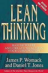 Okładka książki Lean Thinking