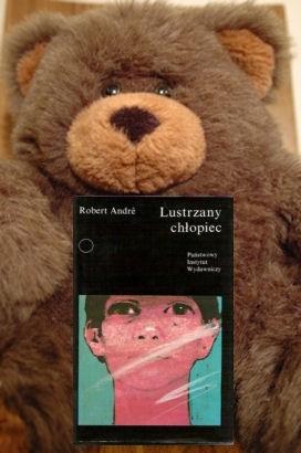 Okładka książki Lustrzany chłopiec