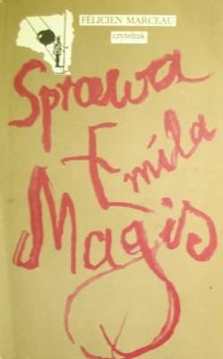 Okładka książki Sprawa Emila Magis