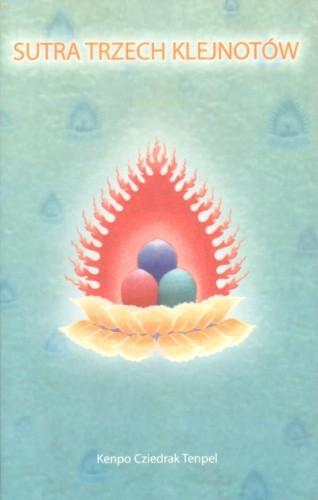 Okładka książki Sutra Trzech Klejnotów