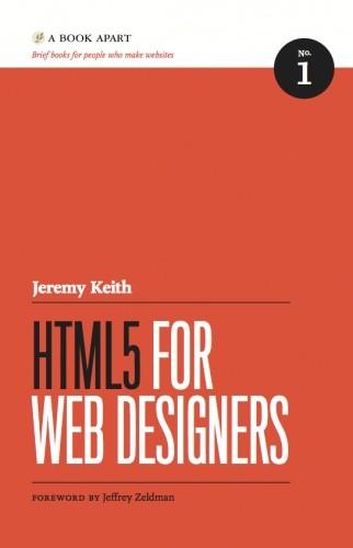 Okładka książki HTML5 for web designers