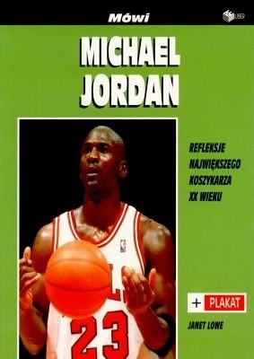 Okładka książki Mówi Michael Jordan