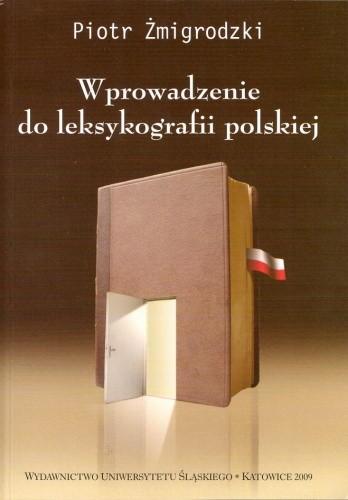 Okładka książki Wprowadzenie do leksykografii polskiej