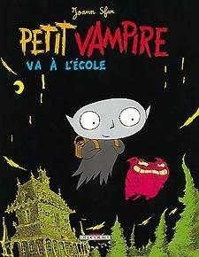 Okładka książki Petit Vampire va à l'école