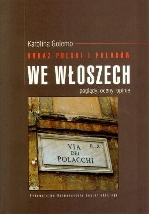 Okładka książki Obraz Polski i Polaków we Włoszech