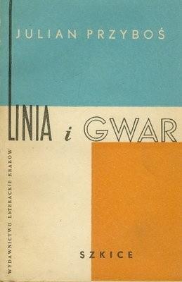 Okładka książki Linia i gwar