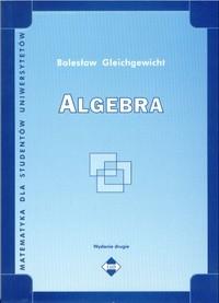 Okładka książki Algebra
