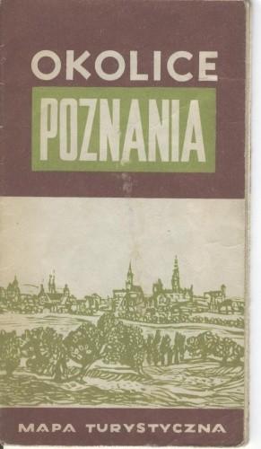 Okładka książki Okolice Poznania. Mapa turystyczna