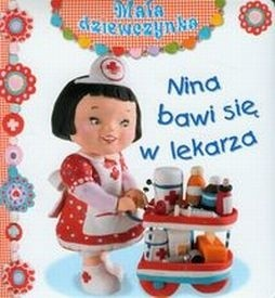 Okładka książki Nina bawi się w lekarza