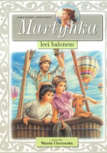 Okładka książki Martynka leci balonem