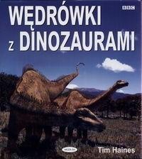 Okładka książki Wędrówki z dinozaurami