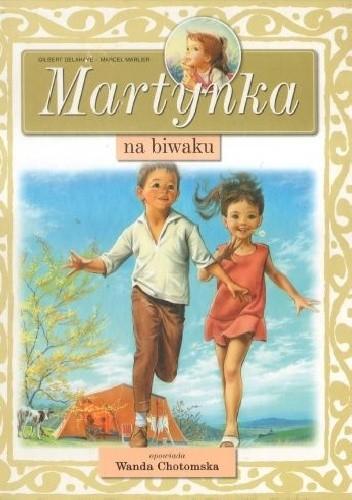 Okładka książki Martynka na biwaku