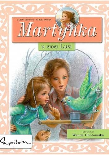 Okładka książki Martynka u cioci Lusi