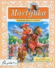 Okładka książki Martynka, księżniczka i rycerz