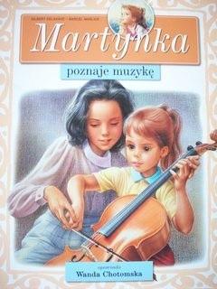 Okładka książki Martynka poznaje muzykę