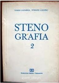 Okładka książki Stenografia. Podręcznik dla policealnych studiów zawodowych 2