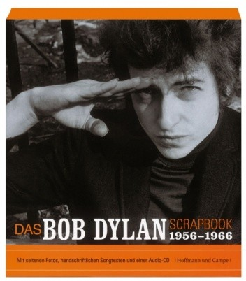 Okładka książki The Bob Dylan Scrapbook, 1956-1966