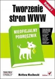 Okładka książki Tworzenie stron WWW. Nieoficjalny podręcznik.