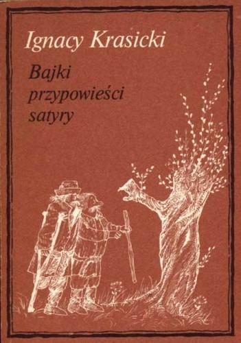 Okładka książki Bajki, przypowieści, satyry
