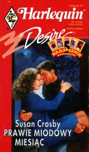 Okładka książki Prawie miodowy miesiąc