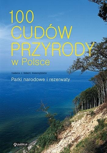 Okładka książki 100 cudów przyrody w Polsce