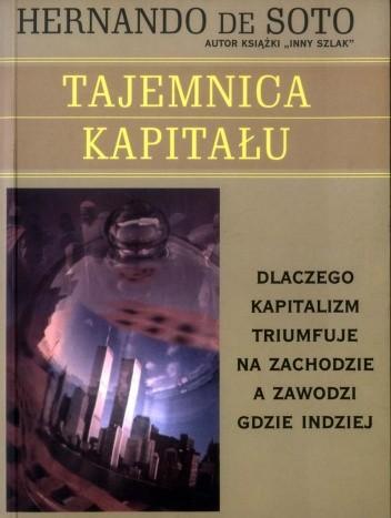 Okładka książki Tajemnica kapitału - dlaczego kapitalizm triumfuje na zachodzie, a zawodzi gdzie indziej