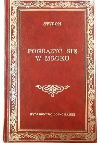 Okładka książki Pogrążyć się w mroku