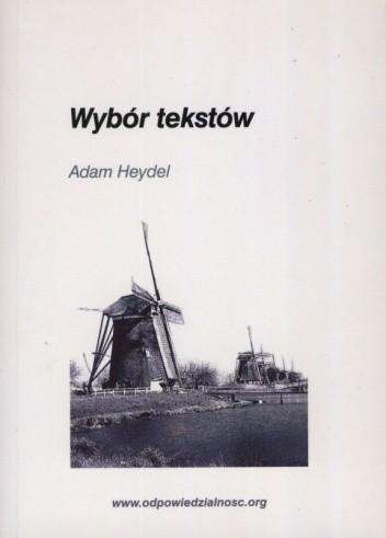 Okładka książki Wybór tekstów