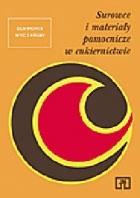 Okładka książki Surowce i materiały pomocnicze w cukiernictwie