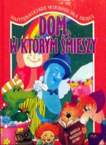 Okładka książki Dom, w którym śmieszy