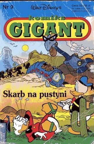Okładka książki Gigant 9/94: Skarb na pustyni