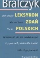Leksykon zdań polskich