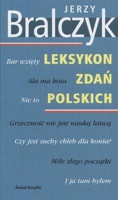 Okładka książki Leksykon zdań polskich