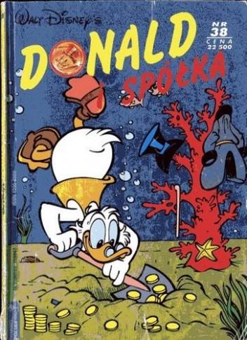 Okładka książki Donald i Spółka Nr 38