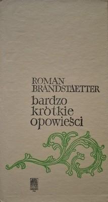 Okładka książki Bardzo Krótkie Opowieści