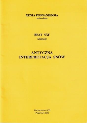 Okładka książki Antyczna interpretacja snów