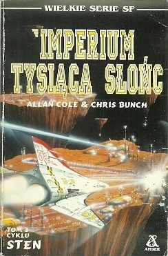 Okładka książki Imperium tysiąca słońc