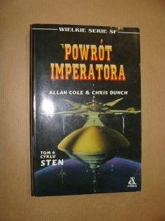 Okładka książki Powrót Imperatora