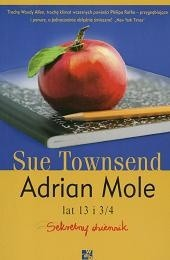 Okładka książki Adrian Mole lat 13 i 3/4 : sekretny dziennik