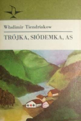 Okładka książki Trójka, siódemka, as