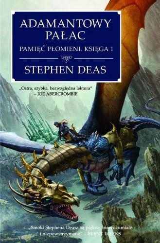 Okładka książki Adamantowy Pałac