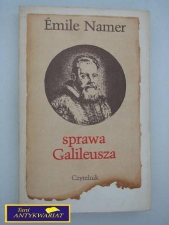 Okładka książki Sprawa Galileusza