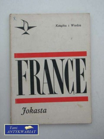 Okładka książki Jokasta