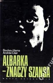 Okładka książki Albarka - znaczy szansa