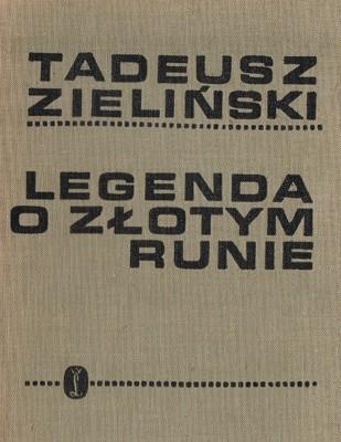Okładka książki Legenda o złotym runie
